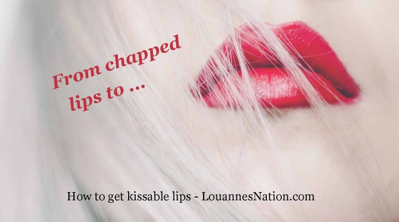 how chapped lips + matte lipstick can mean extremely kissable lips