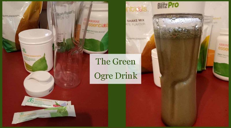 the green ogre drink - a way to kickstart your day, naturally