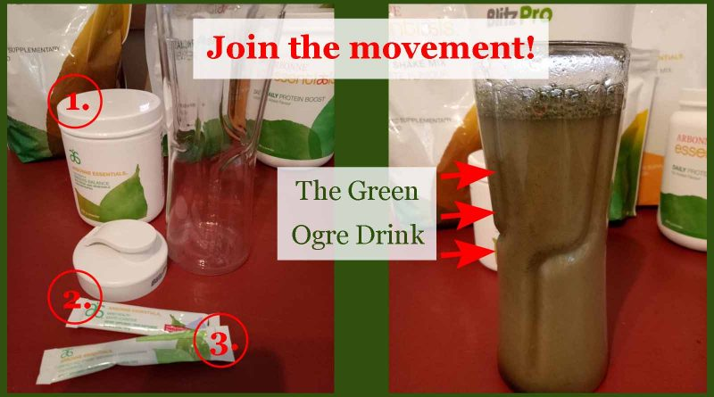 Join the movement - green ogre nation - the green ogre drink
